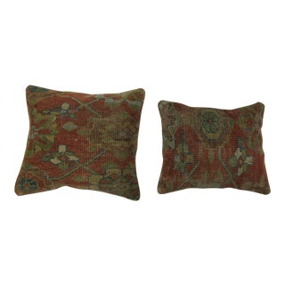 Persian Rug Pillows - a Pair For Sale