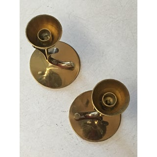 Mid Century Ystad Metall Brass Tulips by Gunnar Ander - a Pair Preview