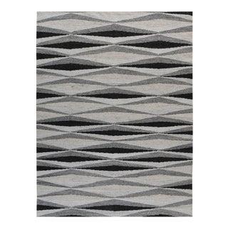 Stark Contemporary Modern Flatweave Rug - 10′ × 14′