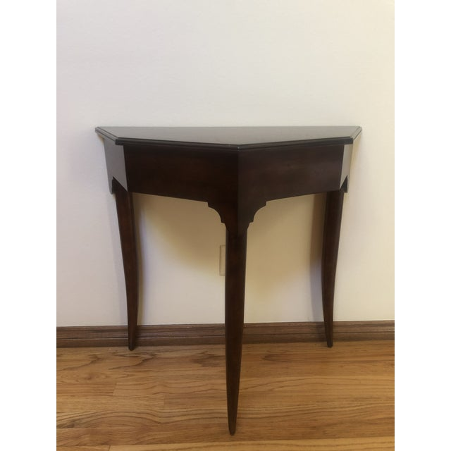 Wood Woodbridge Marseille Console Table For Sale - Image 7 of 7