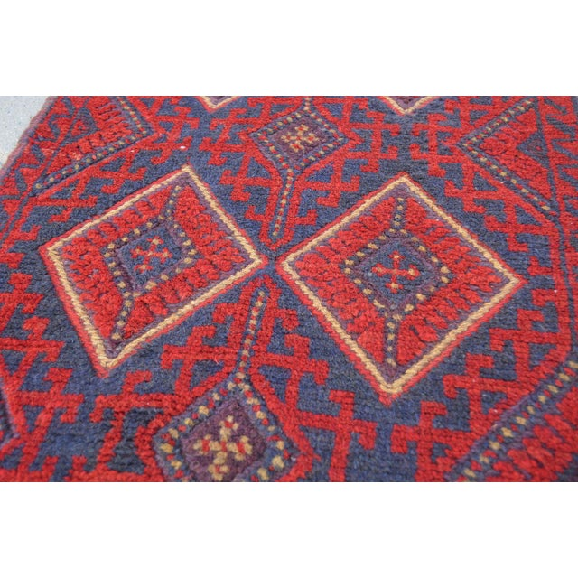 "Islamic Vintage Tribal Turkish Kilim Runner - 2' x 8'2"" For Sale - Image 3 of 6"