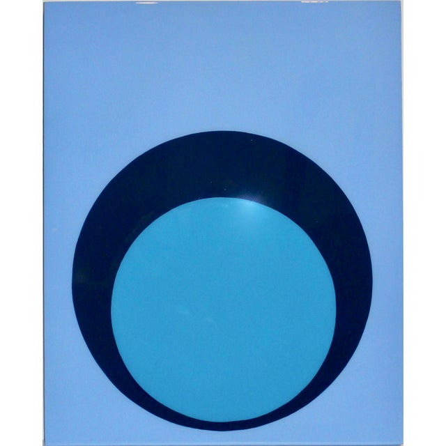 Stephanie Henderson Glossy Double Dot on Panel For Sale In Atlanta - Image 6 of 7