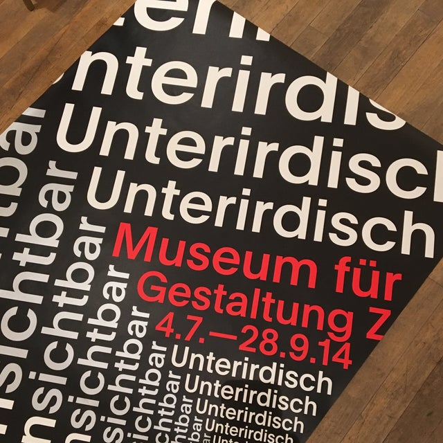 Modern Swiss Helvetica Poster - Image 6 of 6