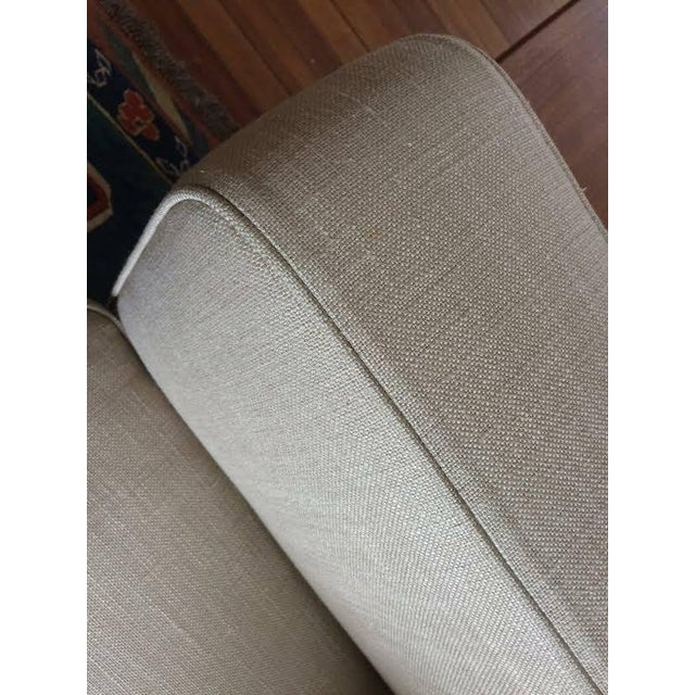 Textile Antonio Citterio for B&b Italia Sectional Sofa & Large Ottoman For Sale - Image 7 of 13
