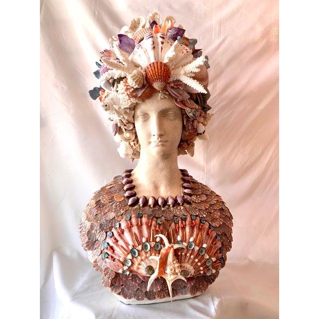 La Sirena Seashell Bust For Sale - Image 11 of 11