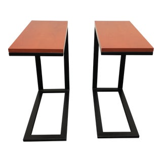Custom Right Touch Side Tables - a Pair