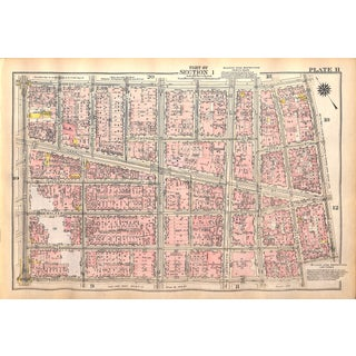 New York City, Canal St., West Broadway, Mulberry St., Manhattan Bridge Plaza, Hester St. East Broadway, (Pl. 11-12) 1927 For Sale