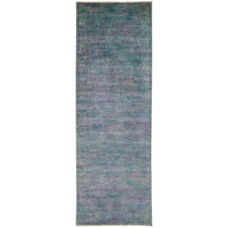 """Vibrance Hand Knotted Runner - 4'1"""" X 11'9"""""""
