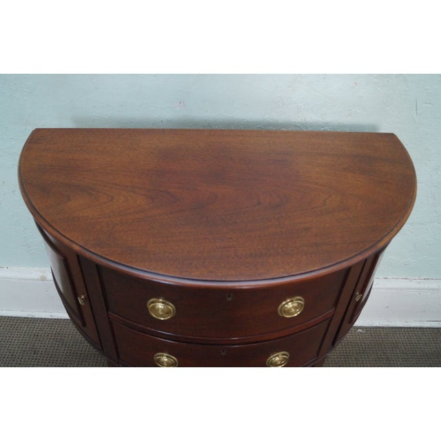 Baker Furniture Demilune Console - Image 8 of 10