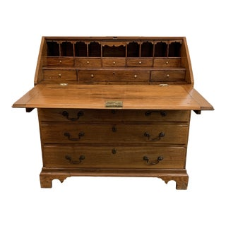 Vintage Drop Front Secretary For Sale