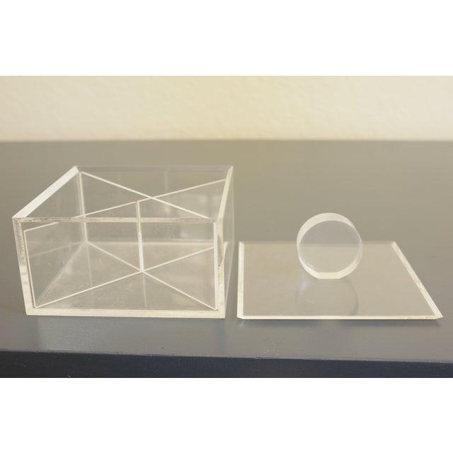 Lucite Decorative Box - Image 4 of 8