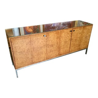 20th Century Modern Pace Burlwood Console Table
