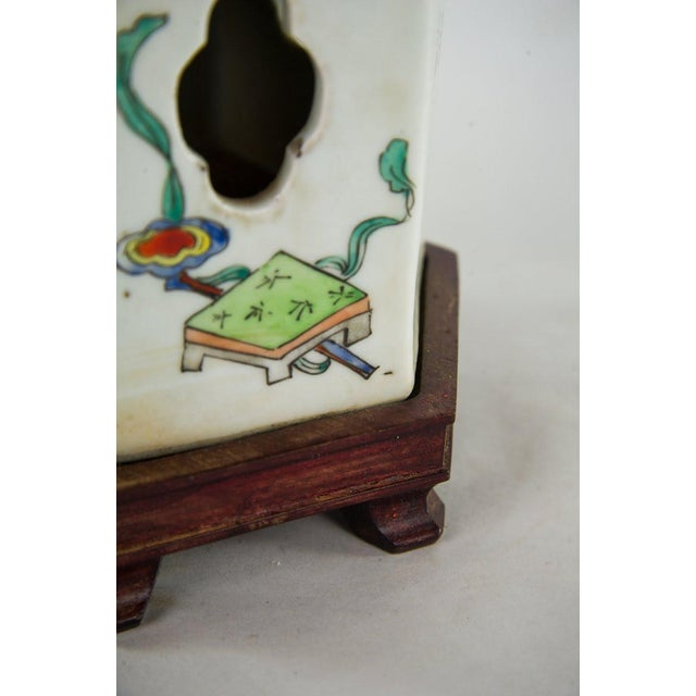 Chinoiserie Ginger Jar Table Lamp For Sale - Image 11 of 13