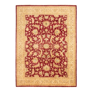"""Classic Hand-Knotted Rug, 9'2"""" X 12'4"""" For Sale"""