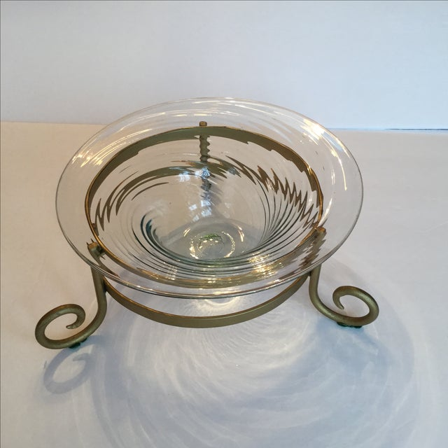 Art Glass Bowl For Sale - Image 4 of 11