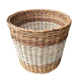 Arurog Abaca Woven Basket For Sale