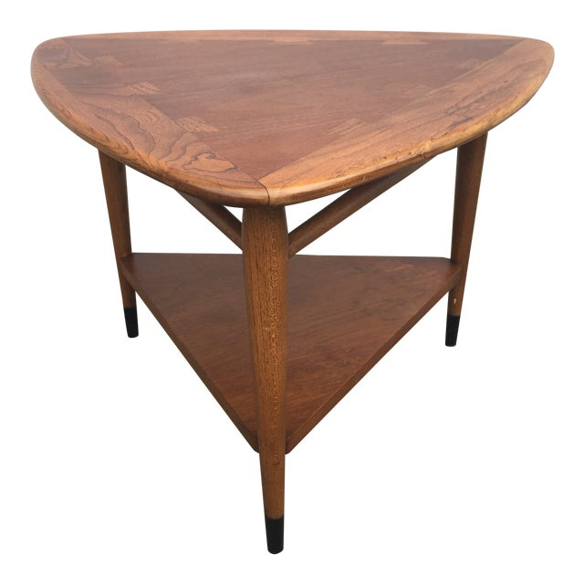 Coffee Table Pick Up Line.1960s Mid Century Modern Lane Acclaim Guitar Pick End Table