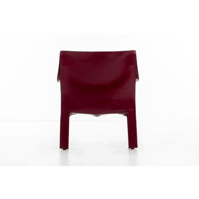 Mario Bellini Cab Lounge Chairs For Sale - Image 9 of 11