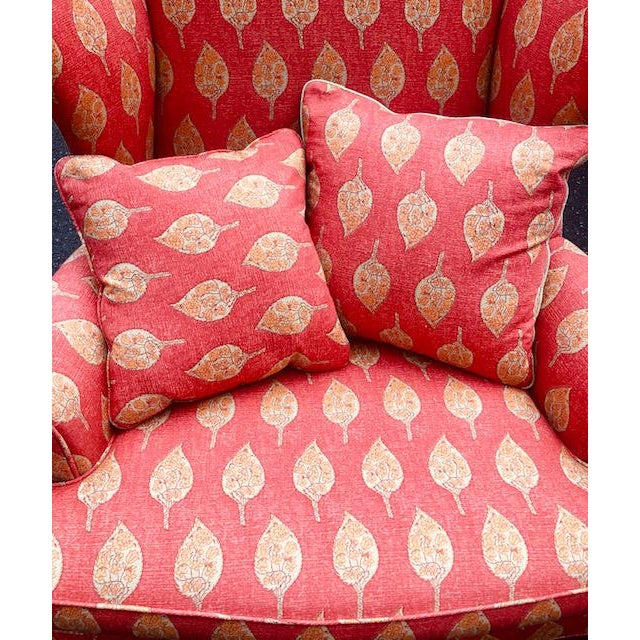 1980s Vintage Kittinger Colonial Williamsburg Wingback Chair For Sale In New York - Image 6 of 10