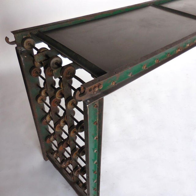 Metal Steampunk Console For Sale In Los Angeles - Image 6 of 10