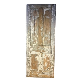 Rustic Farmhouse Pine 4-Panel Door For Sale
