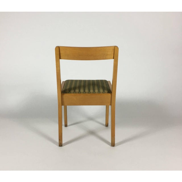 1950s Mid-Century Modern Jens Risom Knoll Side Chair For Sale - Image 9 of 10