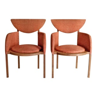Frank Lloyd Wright Pair of Armchairs 1953