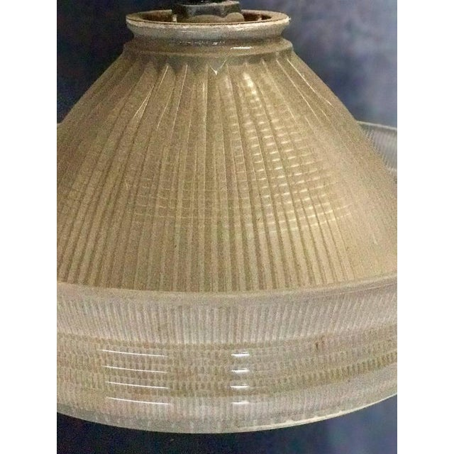 Industrial Industrial Pendant Lighting, 1940s For Sale - Image 3 of 7