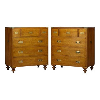 Polo Ralph Lauren Campaign Chests - A Pair For Sale
