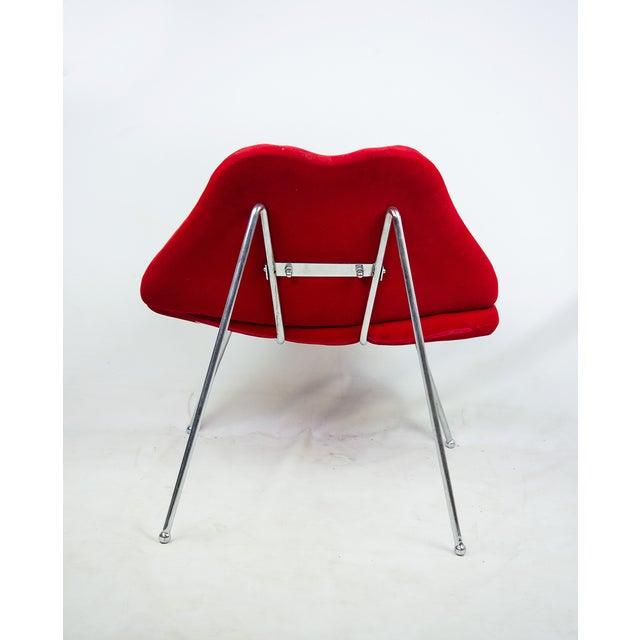 Modern Red Velvet Quot Lips Quot Chair Chairish