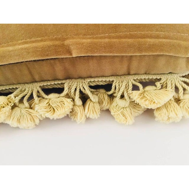 Early 20th Century French Provincial Aubusson Style Throw Pillow For Sale - Image 5 of 8