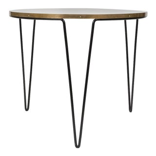 Midcenturymodern Iron Table