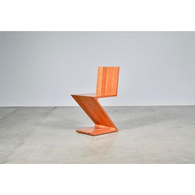 Vintage Gerrit Rietveld Zig Cassina Zag For 1970s ChairChairish qzpSUVMG