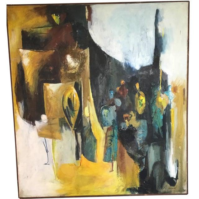 Mixed Media Original Oil Painting - Image 1 of 11