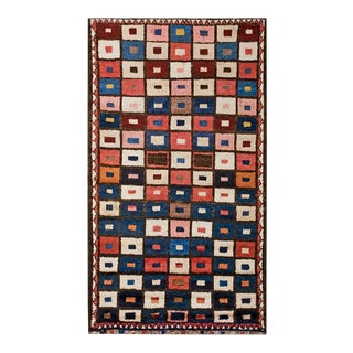 """Antique Persian Gabbeh Rug 3'9"""" X 6'10"""" For Sale"""