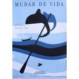 Image of 2018 Cuban Silkscreen Poster, Mudar De Vida (Signed, Numbered) For Sale