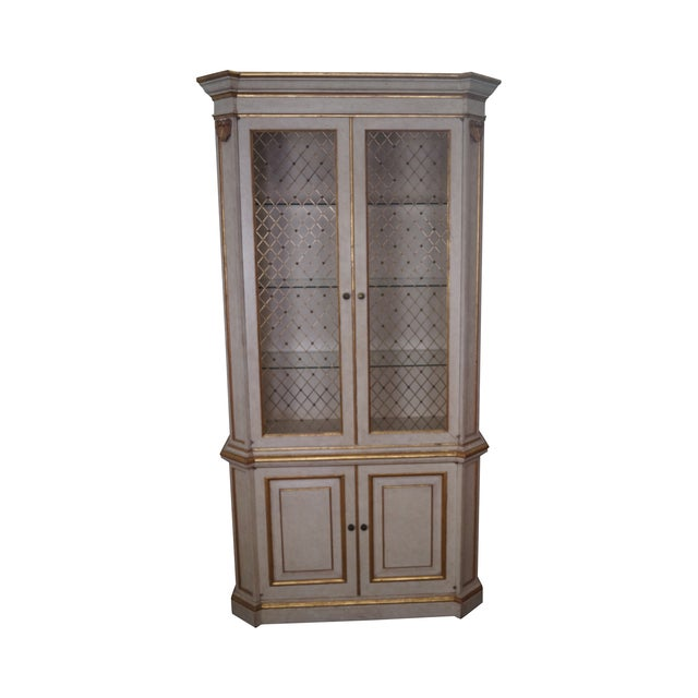 Widdicomb Hollywood Regency Style Tall Cabinet - Image 1 of 10