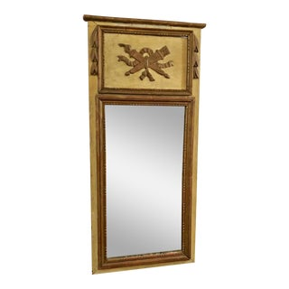 Antique French Painted Directoire Mirror, Circa 1790-1800 For Sale