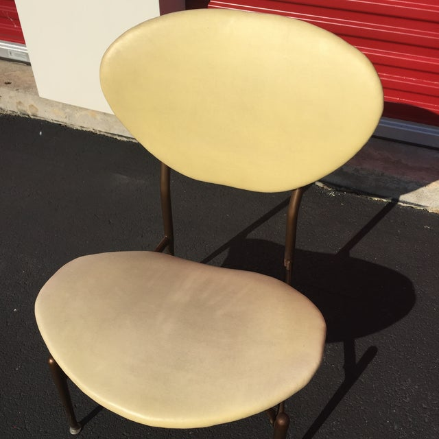 Mid-Century Modern Metal Framed Chair - Image 8 of 9