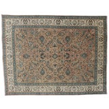 Image of Vintage Persian Tabriz Rug - 9′5″ × 12′4″ For Sale