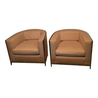 Caracole Ice Breakers Club Chairs - A Pair