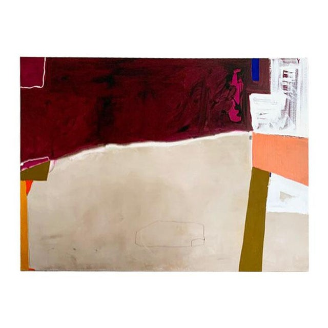 Red Monumental Contemporary Abstract Painting XII by William McLure For Sale - Image 8 of 8