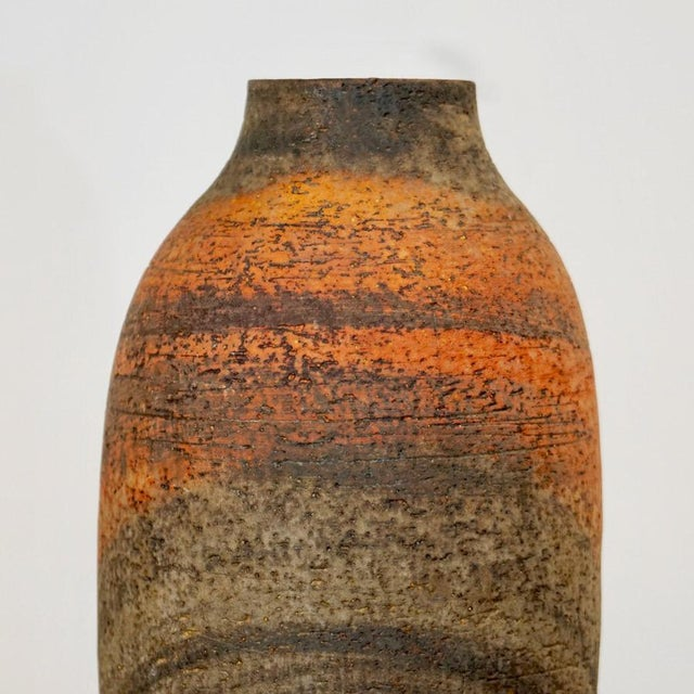 Mid 20th Century Mid 20th Century Large Marcello Fantoni Vase For Sale - Image 5 of 9