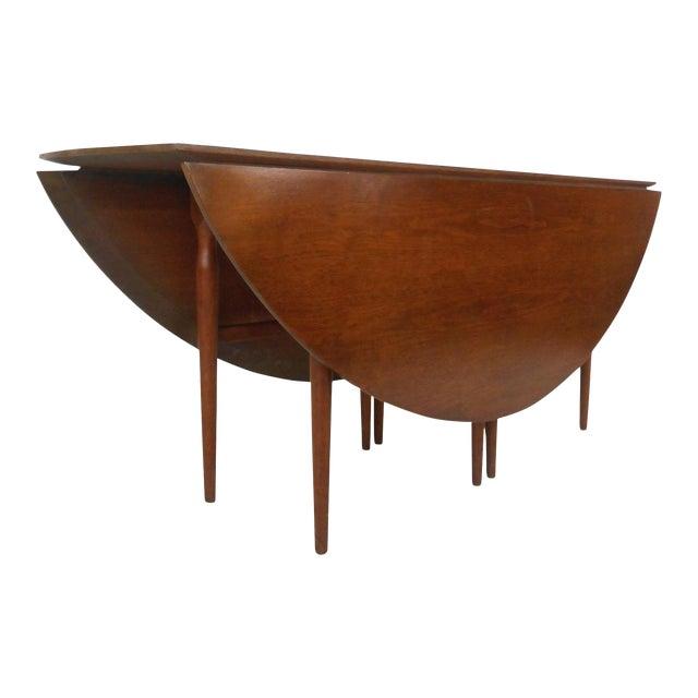 Henredon Mid Century Drop Leaf Table Chairish