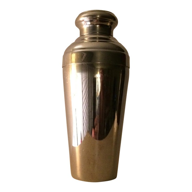 Vintage 22 Ounce Stainless Steel Cocktail Shaker - Image 1 of 11