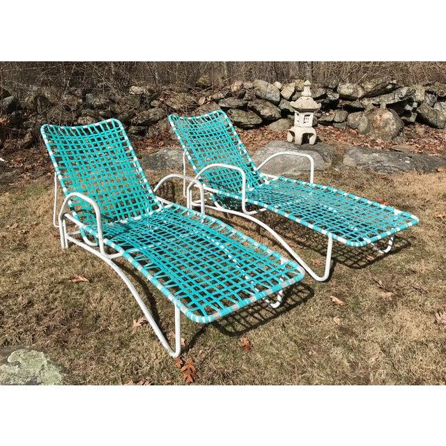 Awe Inspiring Brown Jordan Lido Patio Chaise Lounge Chairs A Pair Evergreenethics Interior Chair Design Evergreenethicsorg