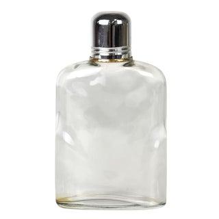 Vintage Glass Flask & Cap