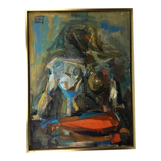Large Scale Bay Area Figurative Abstract For Sale