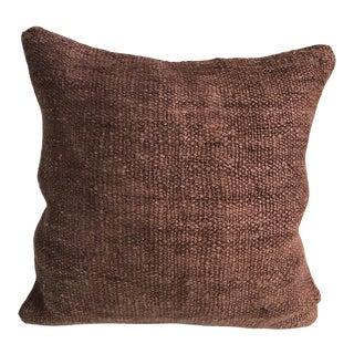 Tribal Unique Color Vintage Decorative Turkish Handmade Kilim Pillow Cover For Sale