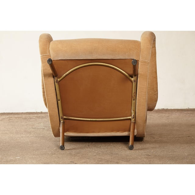 1960s Mid-Century Modern Marco Zanuso for Arflex Senior Chair For Sale - Image 11 of 12